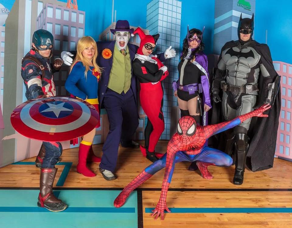 Superheroes Birthday Party Ottawa